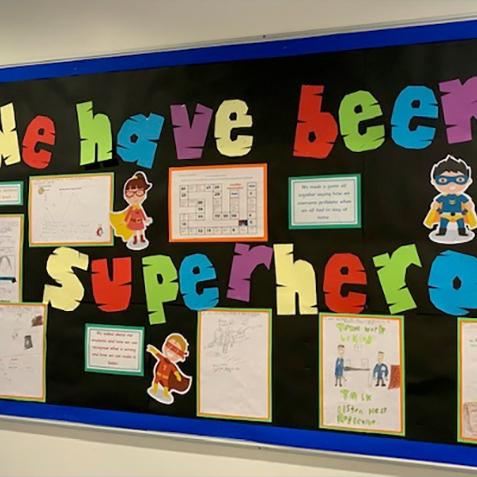 School full of Superheroes!