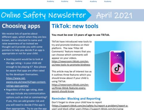 e-Safety Updates